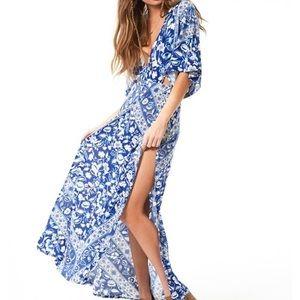 Spell & The Gypsy Lolita Cutout Maxi Dress